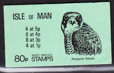 Isle of Man  1980 -  80p Booklet Complete Peregrine Falcon