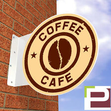 Coffee Shop WALL SIGN, Aluminium Shop Sign, for Cafe or Shop