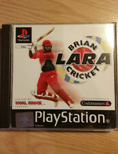 BRIAN LARA CRICKET - Playstation 1 - PS1 Game - Complete - FREE UK P&P