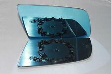 BMW 5 / 6 SERIES E60 E61 E63 E64 DIRECT WING MIRROR GLASS BLUE HEATED RIGHT