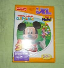 Mickey Mouse Clubhouse*Game Fisher Price for iXL Learning System
