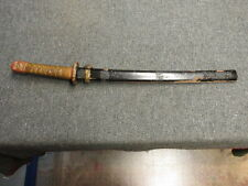"""JAPANESE SAMURAI STYLE """"TANTO"""" LENGTH SWORD-WWII MILITARY STYLE MOUNTINGS"""