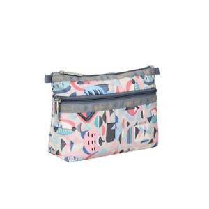LeSportsac Classic Cosmetic Clutch Make Up Bag in Vero Cove NWT