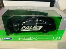 Welly 1/24 1 24 Ford Police Interceptor
