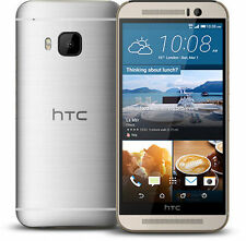 HTC One M9 - 32GB - Gold on Silver (Unlocked) Smartphone