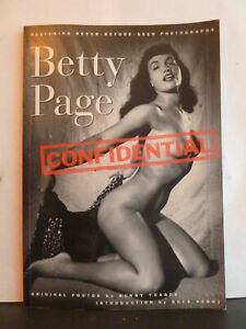 BETTY PAGE CONFIDENTIAL - STAN CORWIN PRODUCTIONS & BUNNY YEAGER Paperback 1994