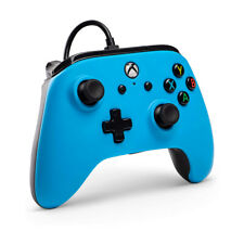 Wired controller power a blue xbox one/pc