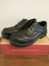 Red Wing Shoes 6633 Mens size 13 D Work Safety Steel Toe Black Leather
