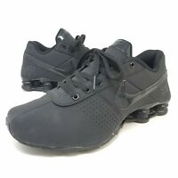 Nike Shox Deliver 615981 002 Mono All Black Youth Size 6.5 / Fits Womens 7.5