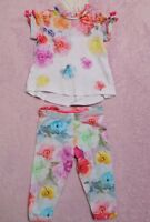 Ted Baker Baby Girl sugar sweet print outfit bundle set size 6-9 months