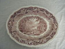 C4 Pottery Mason's Stratford/Vista Serving Plate Oval Large 38.5x31cm 2E2C