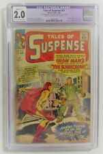 Tales of Suspense #51 1st Scarecrow Silver Age Marvel Comic Book 1964 CGC 2.0