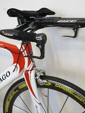 Colnago Flight TT Tri Bike Large Carbon Fiber Campagnolo Zipp