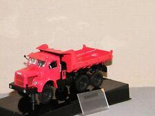 BERLIET GBC 8 6X6 Benne 1958 Red NOREV 1/43 Ref 690012