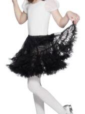Petticoat Layered Black Children Girls Smiffys Fancy Dress Costume Accessory