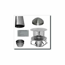 Flue Liner Package 6 inch For Multi Fuel and Wood Stoves 603