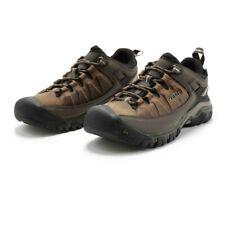 Keen Mens Targhee III Waterproof Walking Shoes - Brown Green Sports Outdoors