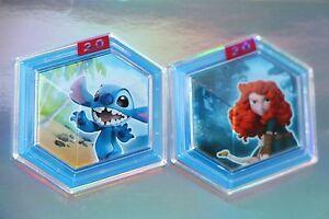 Disney Infinity 2.0 Merida Brave's Forest Siege & Stitch Tropical Rescue Lot