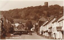 Market Place, Folly & Lock's Cafe, DUNSTER, Somerset RP