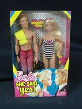 Mattel 2010 Barbie She Said Yes Together Again  Gift set Barbie & Ken