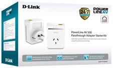 D-Link DHP-P309AV PowerLine AV500 Passthrough Network Starter Kit