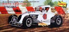 Lindberg 1/24 White Lightning Racer Model Kit # 6030