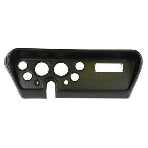 Direct Fit Gauge Panel fits pontiac GTO 66 Black