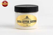 COCOA / CACAO BUTTER ULTRA REFINED ORGANIC NATURAL RAW GRADE A PRIME 2 OZ