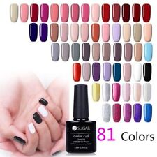 7.5ml Soak Off UV Gel Polish Sequins Glitter  Nail Art Gel Varnish UR SUGAR