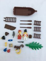 Vintage Lego soldires & pirates spare parts job lot