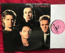 U2 Treats U - Live in New Zealand - Double Vinyl LP from 1985 RARE
