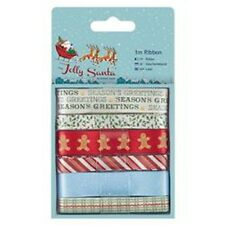 Docrafts Papermania Capsule Collection Christmas & Santorra Gorjuss ribbon packs