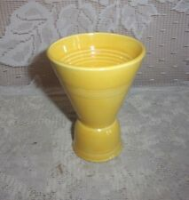 Homer Laughlin HARLEQUIN Yellow Double Egg Cup