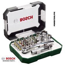 savers Bosch Screwdriver 26 BIT SET+Mini Ratchet 2607017322 3165140768207