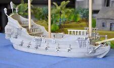 Miniature Unpainted Resin Man O' War Ship Terrain Ainsty Dwarven Forge D&D