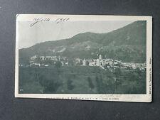 CARTOLINA LAGO DI COMO VALLE D' INTELVI S. FEDELE VIAGGIATA 1901 SUBALPINA AAA