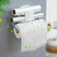 Bathroom Toilet Paper Storage Roll Rack Wall Mount Holder Shelf Towel Holder