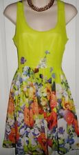 Dotti Floral Rayon Dresses for Women