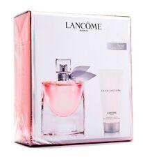 Lancome LA VIE EST BELLE EDP 50ml Spray+50ml Body Lotion*Gift-Travel Set 100%ORG