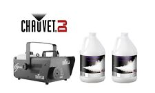 Chauvet DJ Hurricane 1600 Fog machine with 2 Gallons of Premium Fog Fluid. SALE!