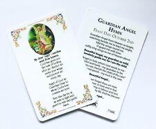 GUARDIAN ANGEL CREDIT CARD SIZED LAMINATED PRAYER CARD