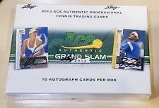 2013 Ace Authentic Grand Slam Tennis 10 autograph Sealed Hobby Box FREE SHIP!!!!