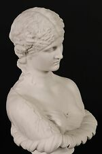 More details for marble bust of clytie, classical sculpture. ornament, gift, art.