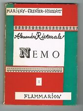 ALEXANDRE RIVEMALE - NEMO - I - FLAMMARION 1956 - BON ÉTAT