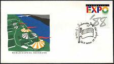 Australia 1988 Expo, Indonesia día cubierta #C44052