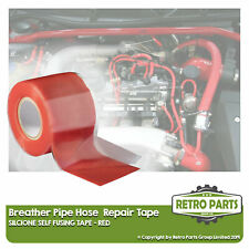 Crankcase Breather Hose Pipe Repair Tape For Daimler. Leak Fix Seal Red
