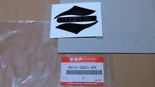 88-91 VS750 Intruder 750 New Genuine SUZUKI Black/Silver Fuel Tank Emblem Badge
