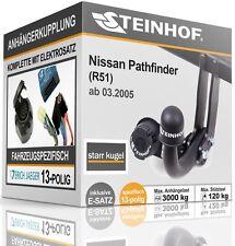Anhängerkupplung starr NISSAN PATHFINDER R51 ab 03.2005+E-SATZ 13p SPEZIFISCH