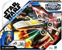 """Star Wars Mission Fleet X-WING FIGHTER w Luke Skywalker 2.75"""" Action Figure"""