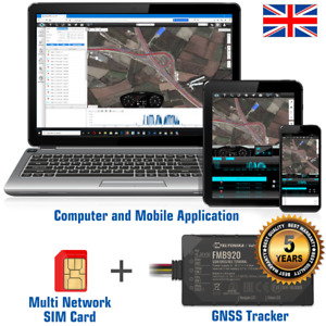 """TELTONIKA FMB920"" REAL TIME GPS TRACKER VEHICLE CAR VAN TRACKING DEVICE SYSTEM"